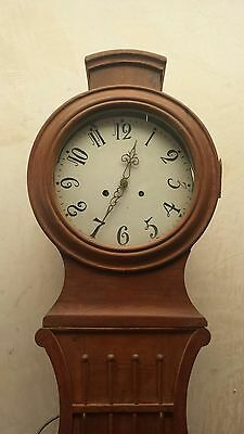 Antique Swedish Mora Clock In Good Working Order And Nice Condition