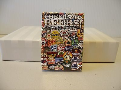 CHEERS TO BEERS Deck of Playing Cards Sealed Pack...NEW