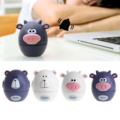 Cute 60 Minute Mechanical Kitchen Countdown Timer Cow Moo Shape Cooking Timer 1x