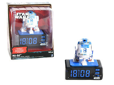 Wecker Disney StarWars Kinderwecker Kinder Alarm R2-D2 15209 Uhr Digital Display