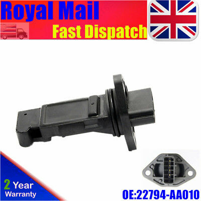 New For Subaru Forester Impreza 2.0 T Mass Air Flow Meter 22680AA301 22794AA010