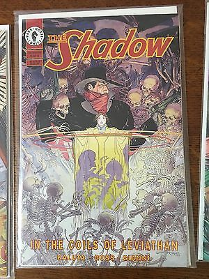 The Shadow In the Coils of the Leviathan 1,2,3, of 4 Dark Horse Comics