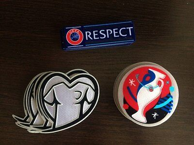 UEFA EURO 2016 Qualifiers jersey patch set