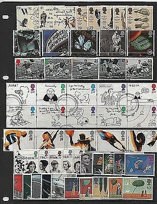 GB Stamps 1996 Commemoratives - Fine used (Multiple listing)