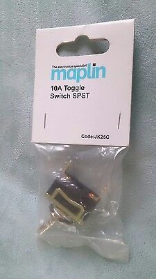 Maplins Heavy Duty Toggle Switch 10A 250volts