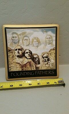 Chief Joseph Sitting Bull Geronimo Red Cloud rushmore lincoln Roosevelt plaque
