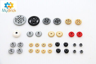 Lego Technic - 33 x Gear and Clutch Pack