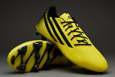 adidas Mens Crazyquick Malice SG Rugby Boots Bright Yellow/Core Black