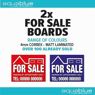 FOR SALE Personalised Sign Boards x 2