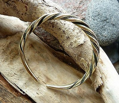 Antique Hand Crafted Bronze Viking Bracelet 30,92 gr.