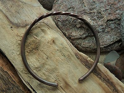 Antique Hand Crafted Copper Viking Bracelet 15,73 gr.