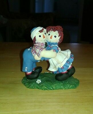 Raggedy Ann and Andy limited edition figurine, numbered.