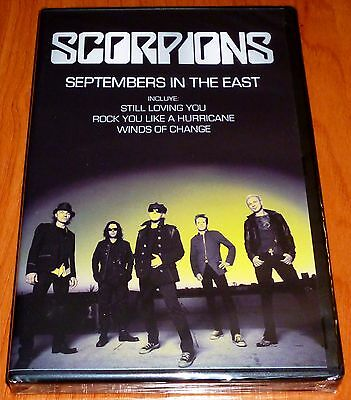 SCORPIONS Septembre in the east - Precintada
