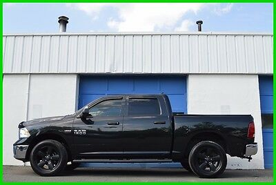 2016 Ram 1500 SLT Repairable Rebuildable Salvage Runs Great Project Builder Fixer Easy Rear Hit
