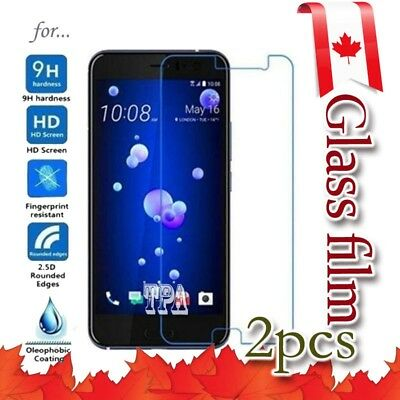 2x HTC Life Tempered Glass Screen Protector LCD Guard Film