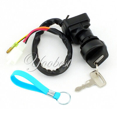 IGNITION KEY SWITCH SUZUKI LTF4WDX LT-F4WDX KING QUAD 4WD 1991-1998 ATV