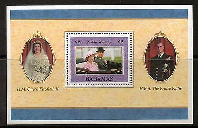Bahamas Sgms1120 1997 Golden Wedding  Mnh