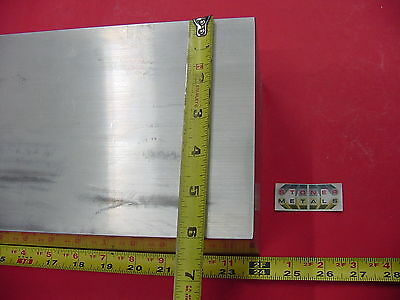 "4"" X 6"" ALUMINUM 6061 FLAT BAR 24"" long SOLID T6511 Rectangle New Mill Stock"