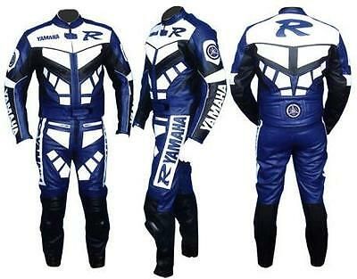 Men Motorbike Leather Suit Sports Racing Motorcycle Leather Suit All Size