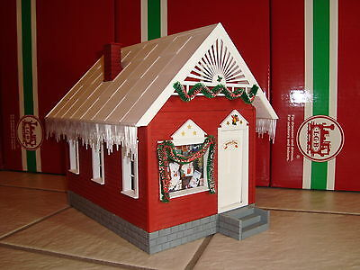 Piko 62703 Christmas G Scale North Pole Santa's House Assembled Model New In Box