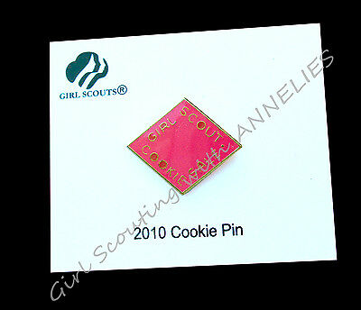 2010 Cookie Pin HOT PINK, New Old Stock on CARD, Discontinued, RARE Combine Ship