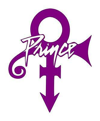 Prince The Artist 5X6 Love Symbol Car Window Laptop Ipad Guitar Decal Sticker