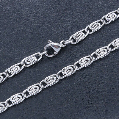 Stainless Steel Anklets T and CO Chain Ankle Bracelet 3.4 mm 10 Inch SSA015-10
