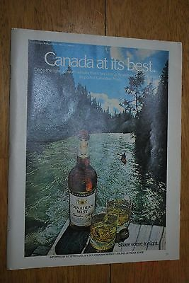 Canadian Mist Whisky 1979 Penthouse Magazine ad - Very Good