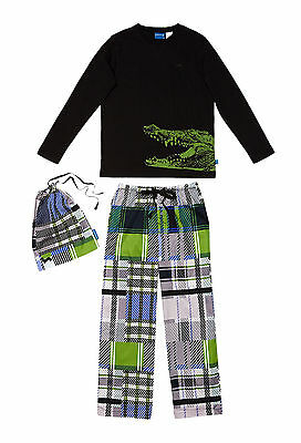 Boys Peter Alexander Jungle Croc Set pyjamas Size 8 , 10  and 12   NWT
