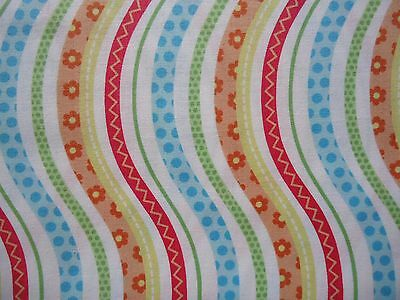 "Quilt Fabric ""bundle Of Love"" By Northcott Fabrics 100% Cotton Sewing Craft Bags"