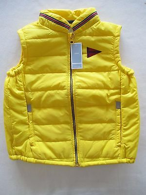 Brand New  Boy's Winter Vest Lined Interior Size 3 Yellow
