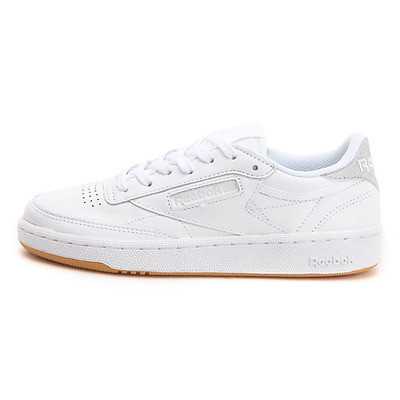 3fe68ee97b6 NEW WOMENS REEBOK CLUB C 85 Diamond WHITE / SILVER BD4427 US 6.0 ...