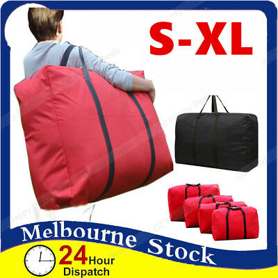 Waterproof Oxford Canvas Nylon Stripe Bag Packing Storage Strip Zip Travel House