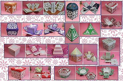 Brother ScanNCut Xmas exploding box templates CD1083