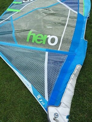 North Hero 2017 4.7m  Windsurf wave sail