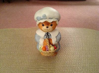 Lucy Rigg - Enesco Lucy And Me Bears - Thanksgiving Girl Bear