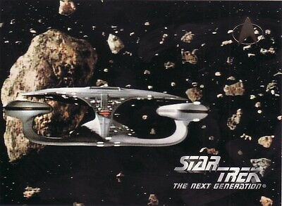 Skybox Star Trek TNG Season 3 Ultra Rare 3 of 3 Oversized Promo Card