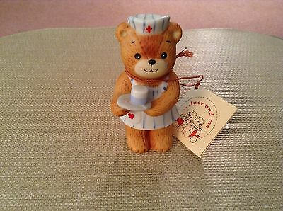 Lucy Rigg - Enesco Lucy And Me Bears - Nurse Bear With Tag - 1980