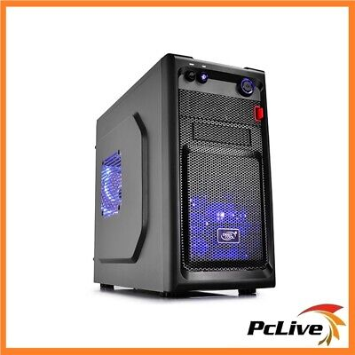 Deepcool Smarter LED Micro ATX Case Quiet Fan USB 3.0 Black Computer Tower Mini