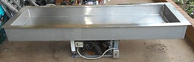 "Duke Manufacturing Drop In Cold Food Unit Model CC 545M 68 x 20 x 5-1/2"" Used"
