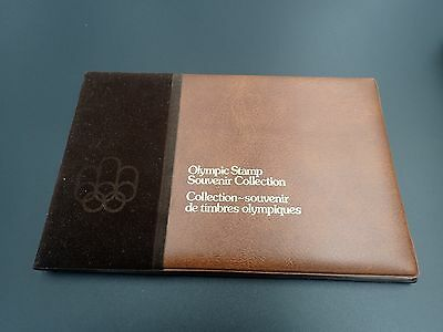 CANADA POST official 1976 Olympics Stamp Souvenir Collection