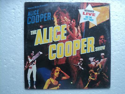 Alice Cooper - The Alice Cooper show - Rare & SEALED Philippines LP