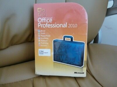 Brand New Microsoft Office 2010 Professional  32/64 bit Retail Full Version