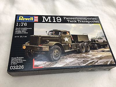 Without instructions #03226 M19 Tank Transporter 1:76 Revell Decal
