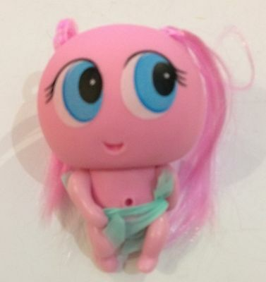 """Fk1 Mexican Toy Doll Casimerito Pink Pink 4"""" Aprox Replica"""
