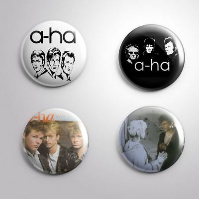 4 A-HA -  Pinbacks Badge Button 25mm 1''..