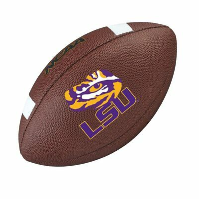 WILSON LSU Tigers NCAA official senior composite american football