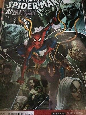 The Amazing Spider Spiral Part 1 Comic