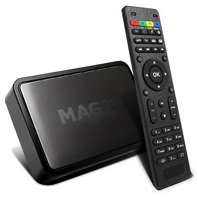 MAG 250 IPTV Set Top Box Linux Media Player Comes with HDMI & UK/EU Power