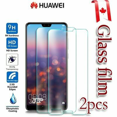 2x Huawei P10 Lite P 10 Lite Tempered Glass LCD Screen Protector Film Guard
